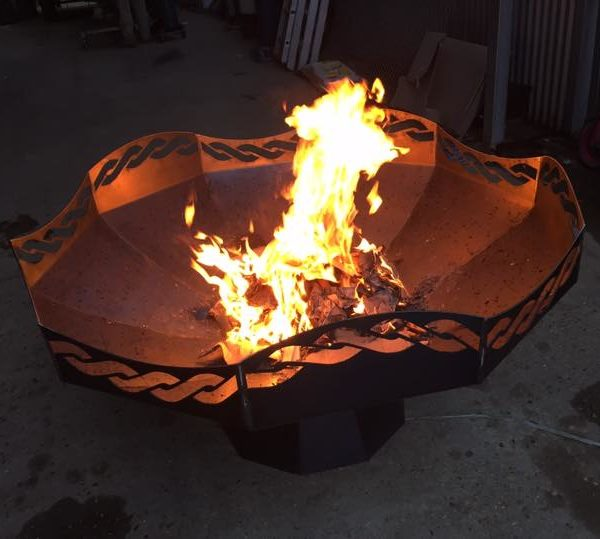 rope fire pit